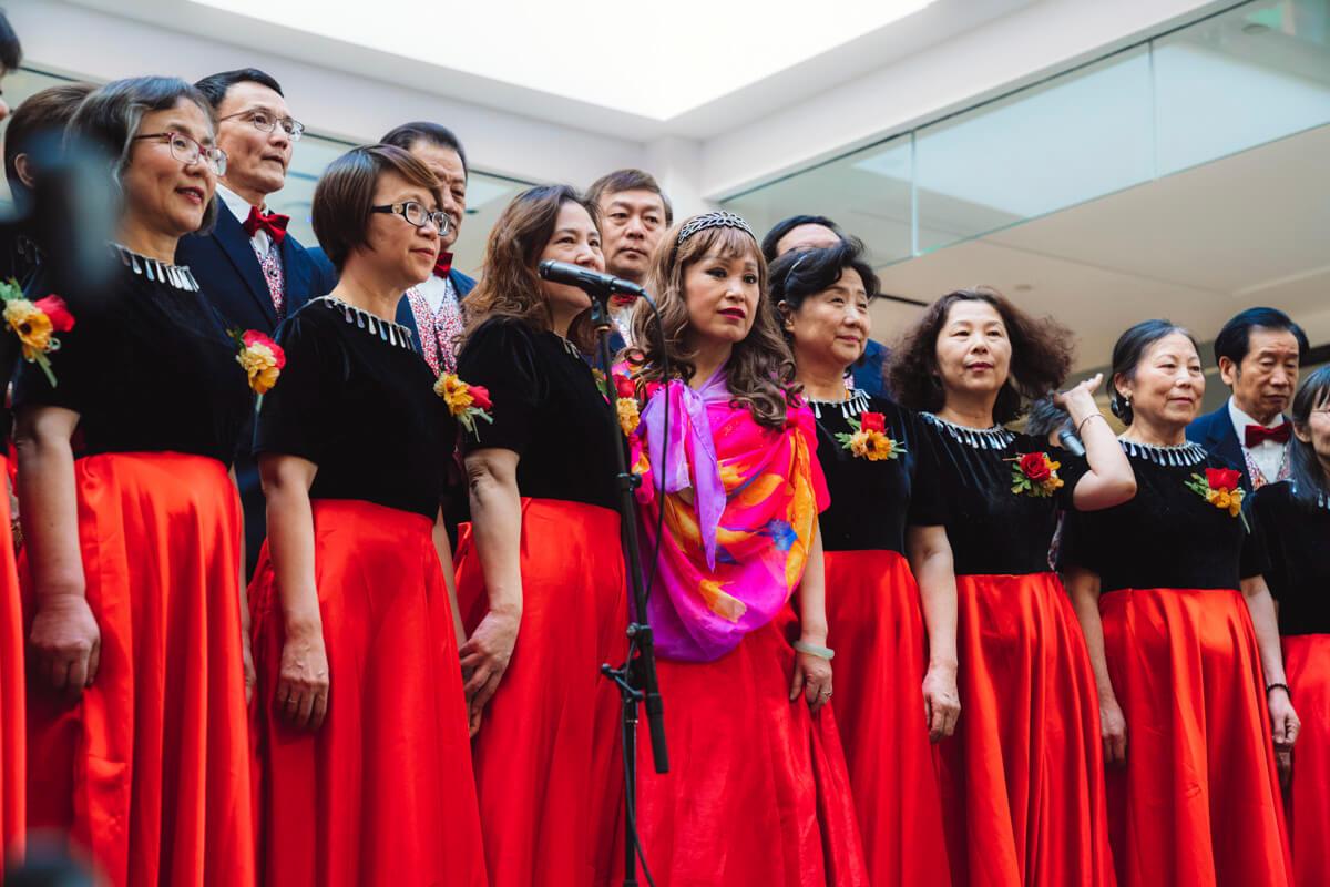 Lunar New Year singers