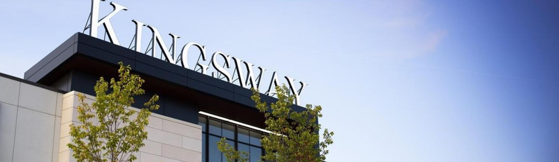 Exterior shot of Kingsway Entrance 8