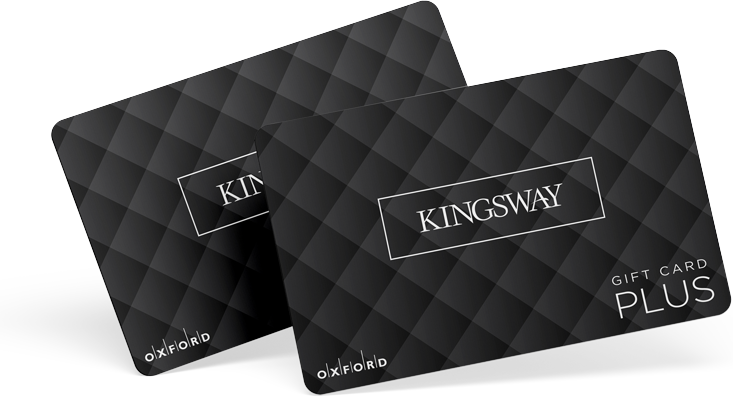 Two Kingsway gift cards