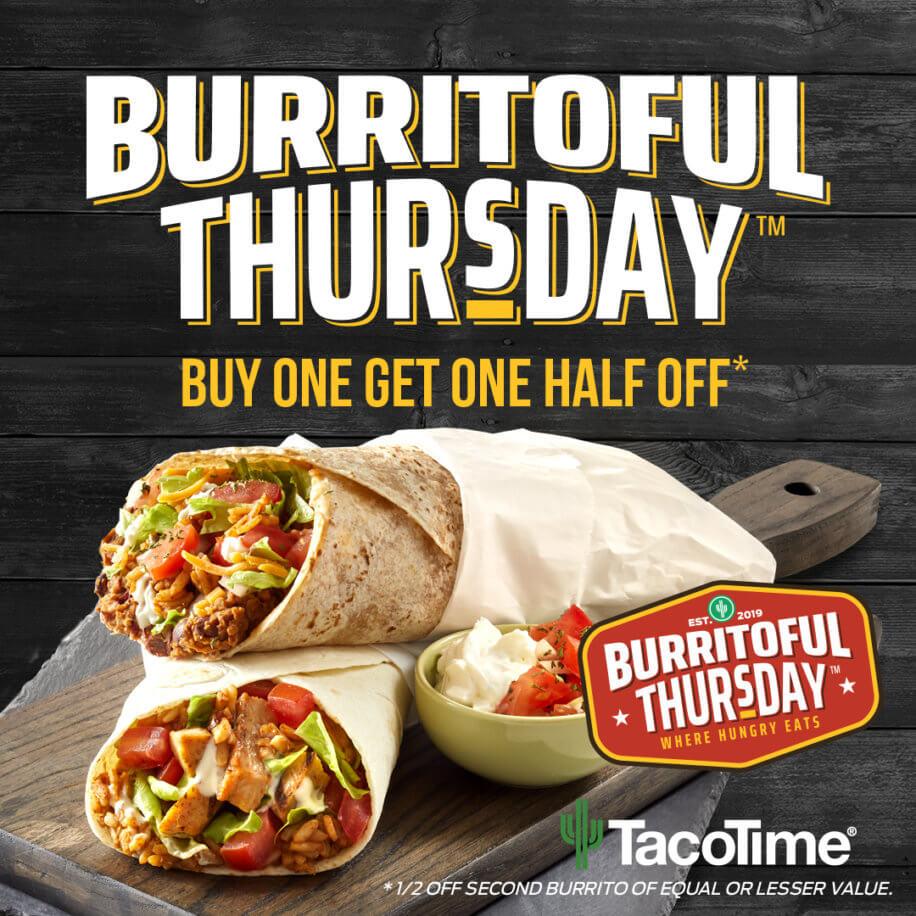 Burritoful Thursday Deal