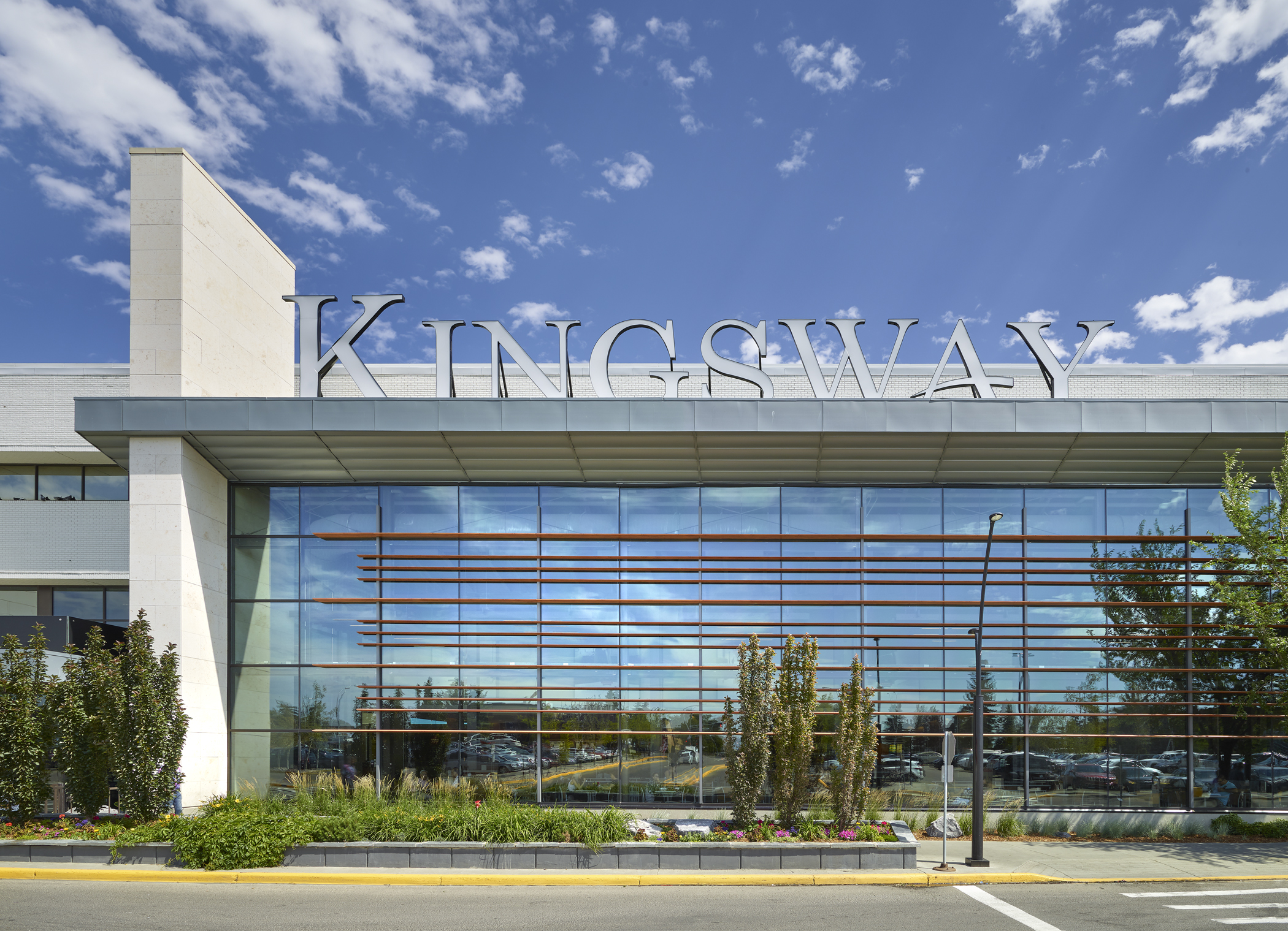 Exterior shot of Kingsway - Entrance 1