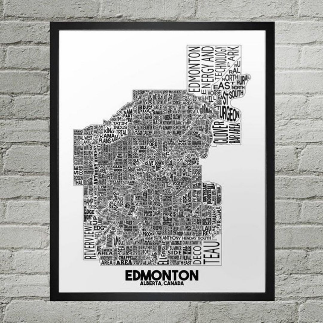 Edmonton art print