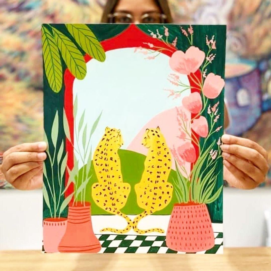 Graphic art print