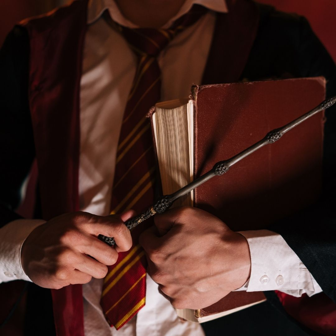 Harry Potter-themed costume